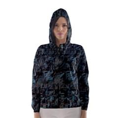 Blue town Hooded Wind Breaker (Women)