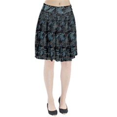 Blue Town Pleated Skirt