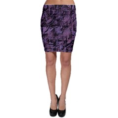 Purple town Bodycon Skirt