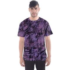 Purple town Men s Sport Mesh Tee