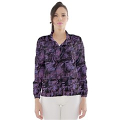 Purple town Wind Breaker (Women)