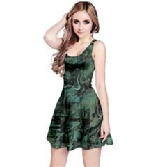 Green town Reversible Sleeveless Dress