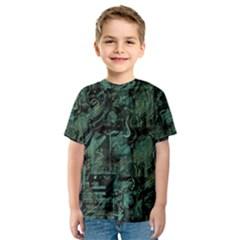 Green town Kids  Sport Mesh Tee