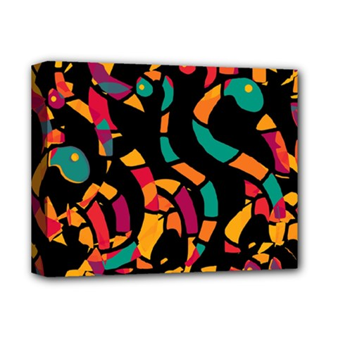 Colorful Snakes Deluxe Canvas 14  X 11