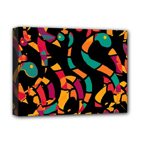 Colorful snakes Deluxe Canvas 16  x 12