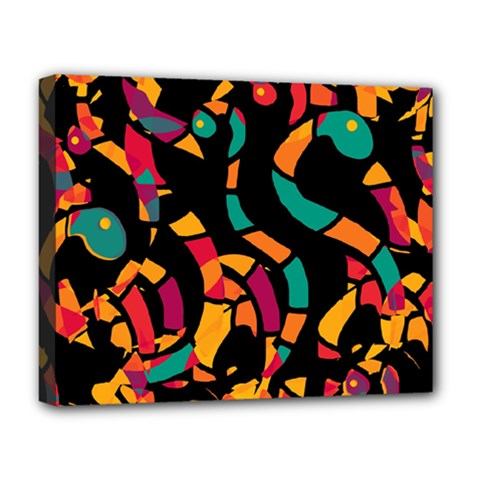 Colorful snakes Deluxe Canvas 20  x 16