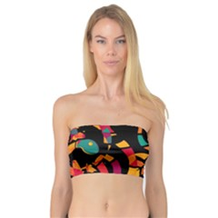 Colorful snakes Bandeau Top