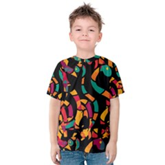 Colorful snakes Kids  Cotton Tee