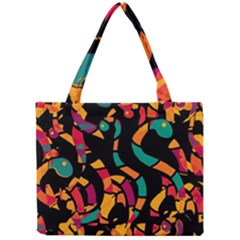 Colorful Snakes Mini Tote Bag