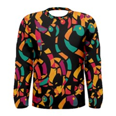 Colorful snakes Men s Long Sleeve Tee