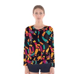 Colorful snakes Women s Long Sleeve Tee