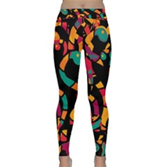Colorful snakes Yoga Leggings