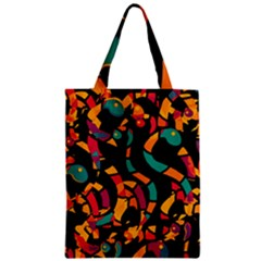 Colorful snakes Zipper Classic Tote Bag