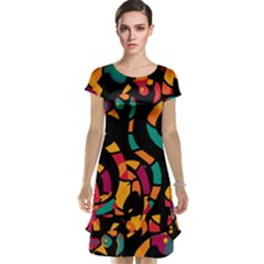 Colorful snakes Cap Sleeve Nightdress