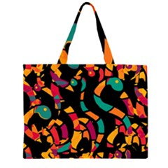 Colorful snakes Large Tote Bag