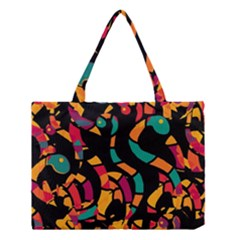 Colorful snakes Medium Tote Bag