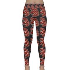 Hsp On Black Yoga Leggings