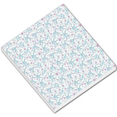 Intricate Floral Collage  Small Memo Pads