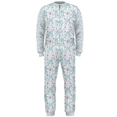 Intricate Floral Collage  OnePiece Jumpsuit (Men)