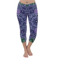 Star Of Mandalas Capri Winter Leggings