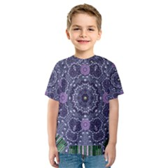 Star Of Mandalas Kids  Sport Mesh Tee