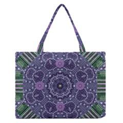 Star Of Mandalas Medium Zipper Tote Bag