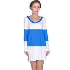 Flag of Canton of Zug Long Sleeve Nightdress