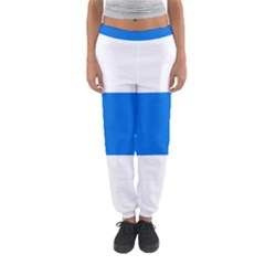 Flag of Canton of Zug Women s Jogger Sweatpants