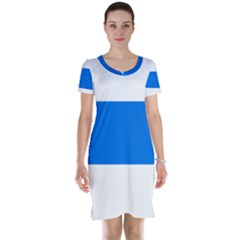 Flag of Canton of Zug Short Sleeve Nightdress