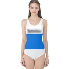 Flag of Canton of Zug One Piece Swimsuit