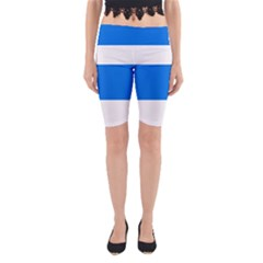 Flag of Canton of Zug Yoga Cropped Leggings