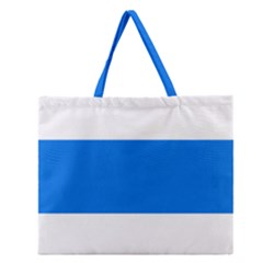 Flag of Canton of Zug Zipper Large Tote Bag