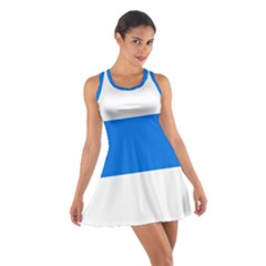 Flag of Canton of Zug Cotton Racerback Dress