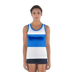 Flag of Canton of Zug Women s Sport Tank Top