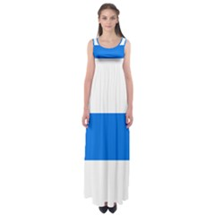 Flag of Canton of Zug Empire Waist Maxi Dress