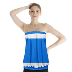 Flag Of Canton Of Zug Strapless Top
