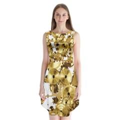 Mechanical Steampunk Sleeveless Chiffon Dress