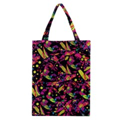 Colorful dragonflies design Classic Tote Bag