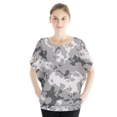WINTER CAMOUFLAGE Blouse