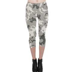 WINTER CAMOUFLAGE Capri Leggings