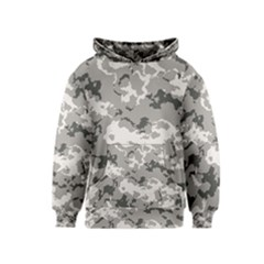 Winter Camouflage Kids  Pullover Hoodie