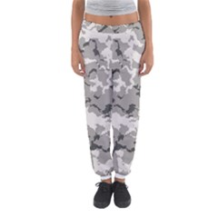 Winter Camouflage Women s Jogger Sweatpants