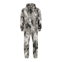 WINTER CAMOUFLAGE Hooded Jumpsuit (Kids)