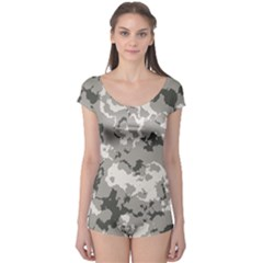 WINTER CAMOUFLAGE Boyleg Leotard