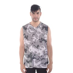 WINTER CAMOUFLAGE Men s Basketball Tank Top