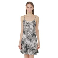 WINTER CAMOUFLAGE Satin Night Slip