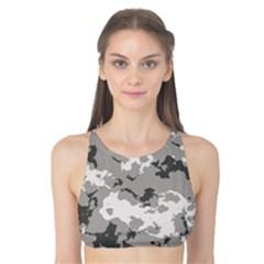WINTER CAMOUFLAGE Tank Bikini Top