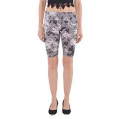 WINTER CAMOUFLAGE Yoga Cropped Leggings