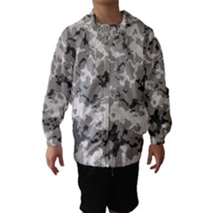 WINTER CAMOUFLAGE Hooded Wind Breaker (Kids)