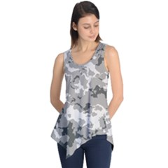 WINTER CAMOUFLAGE Sleeveless Tunic